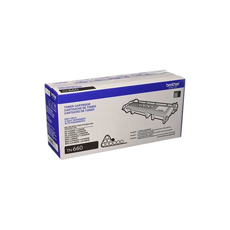 Brother Genuine High Yield Toner Cartrid