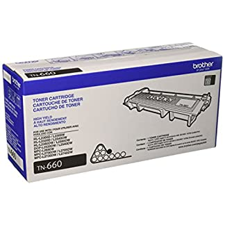 Brother Genuine TN660 High Yield Black Toner Cartridge 10