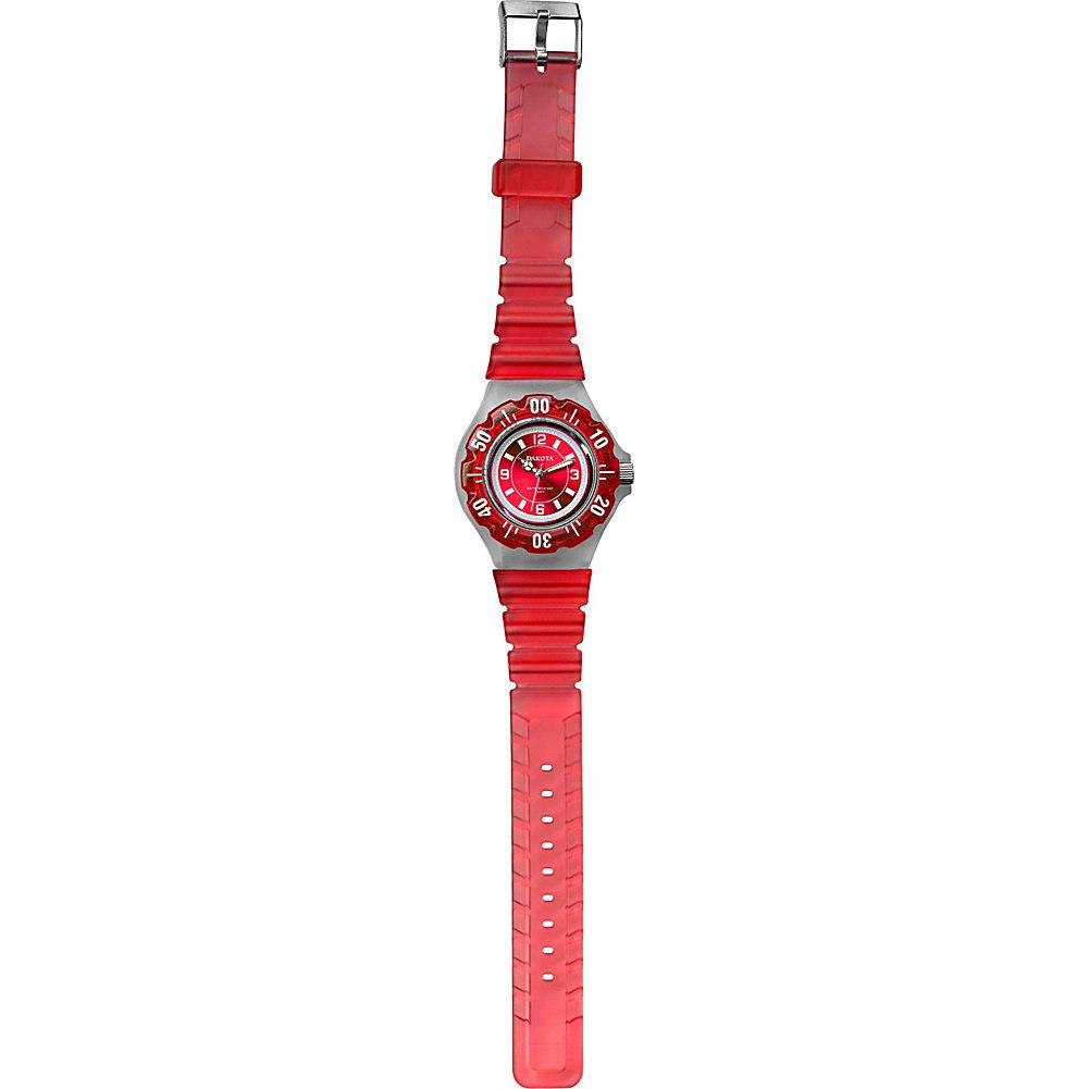 Amazon.com: Dakota Womens Quartz Plastic and Polyurethane Casual Watch, Color:Blue (Model: 96880): Dakota: Watches