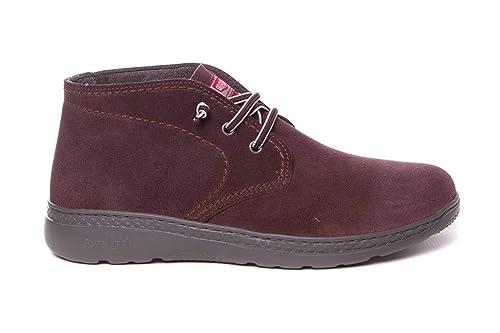 Botines de Hombre Serraje Hidrofugado Muy cómodo - On Foot 710: Amazon.es: Zapatos y complementos