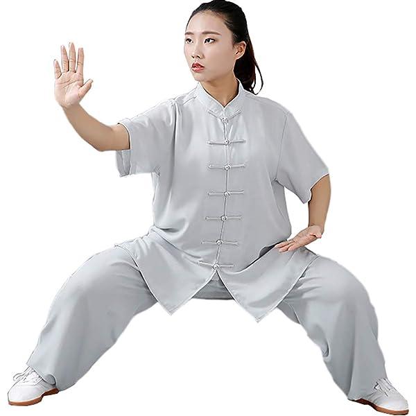Unisex Ropa De Tai Chi Tang Traje de Artes Marciales Kung Fu ...