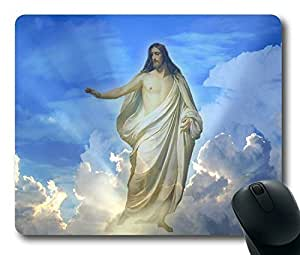 Jesus Easter Thanksgiving Personlized Masterpiece Limited Design Oblong Mouse Pad by Cases & Mousepads