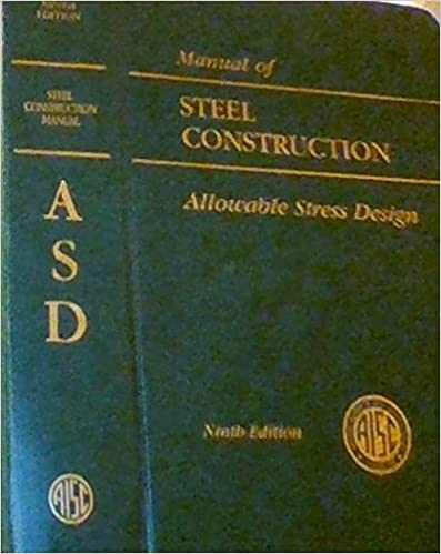 AISC Manual of Steel Construction: Allowable Stress Design (AISC 316-89) 9th Edition by AISC Manual Committee  PDF Download