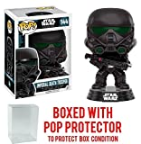 star wars imperial chewbacca - Funko Pop! Star Wars: Rogue One - Imperial Death Trooper #144 Vinyl Figure (Bundled with Pop BOX PROTECTOR CASE)