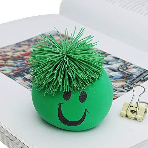 Emoji visages Squeeze Stress Relief DOUX spongieux Balls Toy Pack de 12