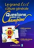 Le grand test de culture générale «Questions pour un champion»