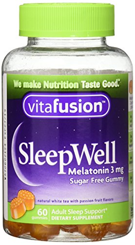 Vitafusion Sleep Well Gummies, 60 Count (Pack of 3)