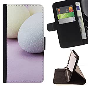 For Sony Xperia M4 Aqua Case , Vacaciones de Semana Santa Rosa- la tarjeta de Crédito Slots PU Funda de cuero Monedero caso cubierta de piel