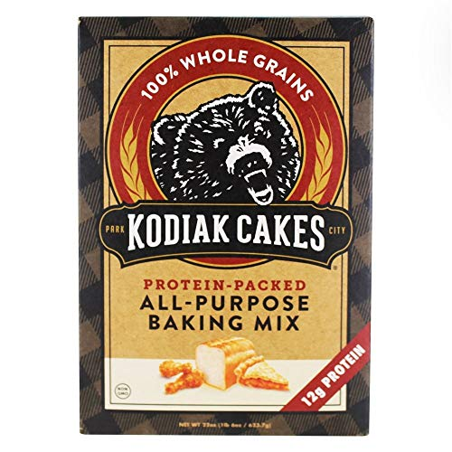 Trail Mix Cake - Kodiak Cakes, Protein-Packed, All-Purpose Baking Mix (Pack of 6)