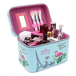Amazon.com: Unicornio viajes organizador de maquillaje tren ...