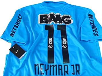 3dae675621f NEYMAR JR  11 SANTOS AWAY SOCCER JERSEY FOOTBALL SHIRT 2012-13 (MEDIUM)