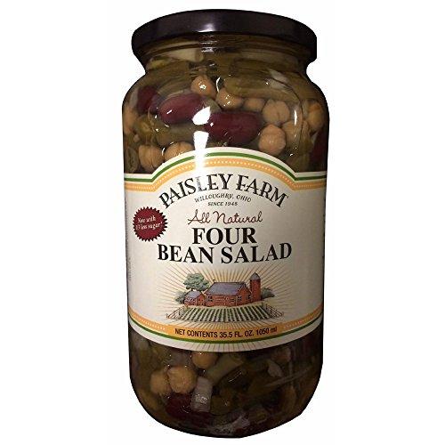Paisley Farm Natural Four Bean Salad, 2 ct./35.5 oz. (pack of 6) by Paisley Farm
