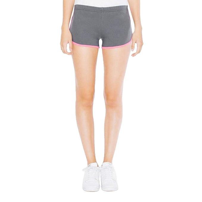 American Apparel 7301W Womens Interlock Running Short