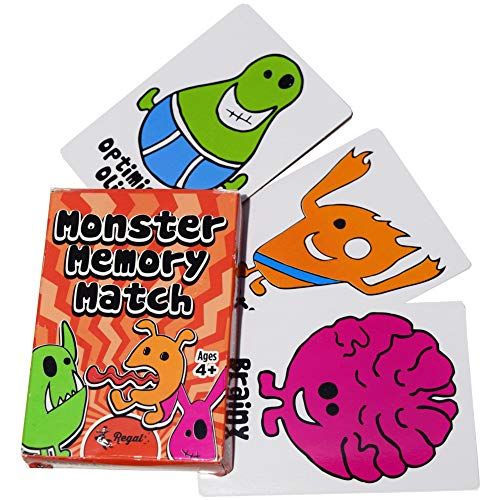 (Regal Games Classic Card Games (Silly Monster Memory Card)