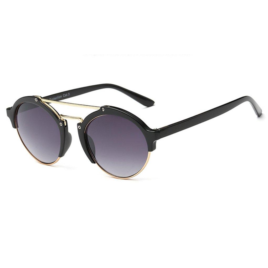 QHGstore Unisex pagina mezza montatura spessa Esterni Sport Eyewear PC classico telaio delle donne d...