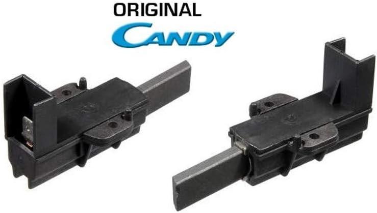 Coppia Carboncini Motore Lavatrice Ariston Indesit Candy Coppia Spazzole Motore