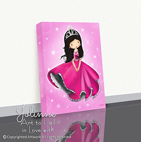Girls Bedroom Princess Decor Canvas Wall Art Baby Nursery Artwork 8