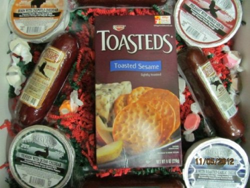 Hunters Reserve Cheese and Salami Sampler
