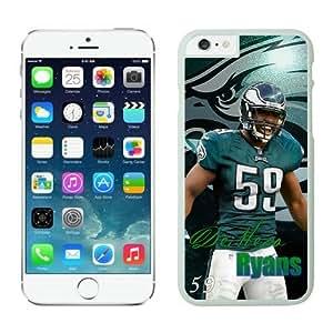 Philadelphia Eagles DeMeco Ryans Case Cover For Apple Iphone 4/4S NFL Cases White NIC14367