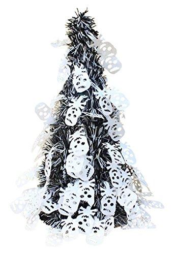 [La Vogue Girls' Halloween Table Tree Decoration Party Accessory White Ghost] (The Devil Wears Prada Costume Halloween)