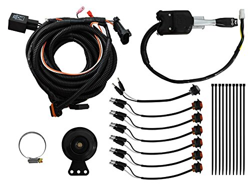 SuperATV Turn Signal Kit for Polaris General/General 4 (2016+) - Steering Column Turn Switch and Attached Horn! - Plug and Play For Easy Installation by SuperATV.com