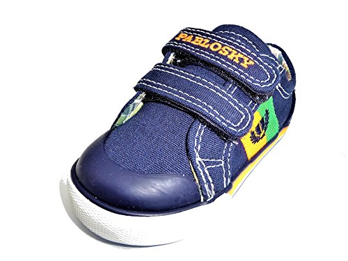 Pablosky 939220 2 Velcros Escudo Niños Azul