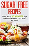 Sugar Free Recipes: Speedy and Easy 30 MINUTE Sugar Free Recipes for Breakfast, Lunch, Dinner and Dessert – Sugar Detox Diet Support