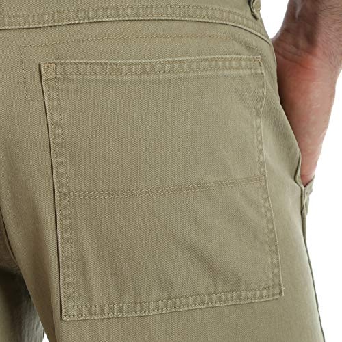 Wrangler Men's Authentics Classic Cargo Pant, British Khaki Twill, 36W x 32L by Wrangler (Image #6)