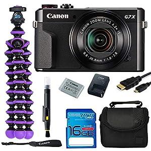 Flashandfocus.com 51WWvLZb51L._SS300_ Canon PowerShot G7 X Mark II 20.1MP Digital Camera Bundle Kit with Spider Tripod and 16 GB Memory Card