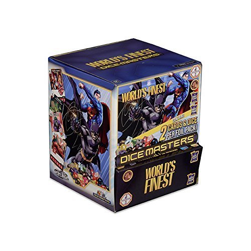 Dice Masters: World's Finest Gravity Feed (90 Count) (Justice League Dice)