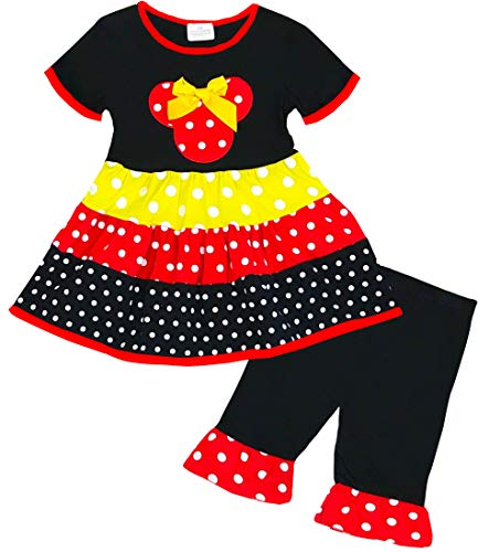 Little Girls Disney World Cartoon Character Minnie Mouse