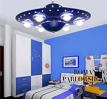 Weixia Wxx Lampe Schlafzimmer Kinder Kreative Pendelleuchte Ufo