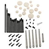 gazechimp Clarinet Repair Tool Kit Spring Leaf Spindle Woodwind Instrument Accessories