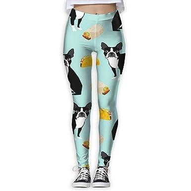 ANTOUZHE Pantalones de Yoga, Pantalones de Mujer Boston ...