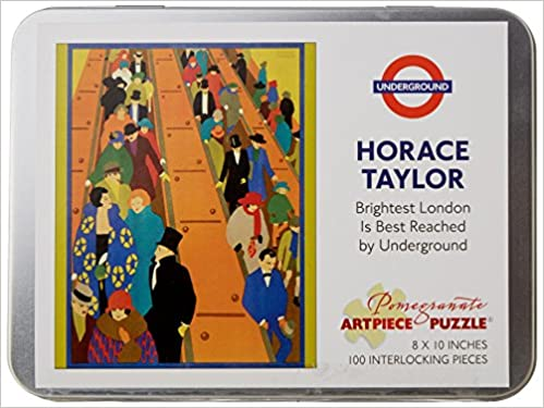 Horace Taylor Brightest London 100 Piece Jigsaw Puzzle Aa830