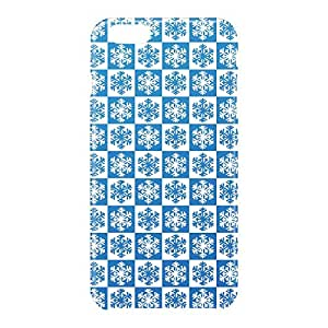 Loud Universe Apple iPhone 6 Plus 3D Wrap Around Blue Pattern Print Cover - Blue/White