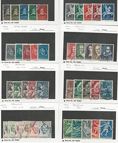 Netherlands, Postage Stamp, B139//B193 Used, 1941-1948