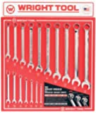 Wright Tool D978 Combination Wrenches, Full Polish Finish