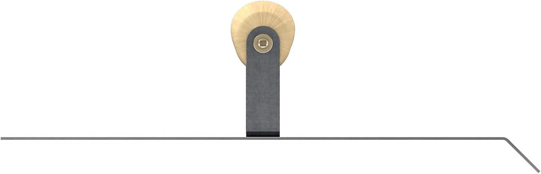 Bon 12-867 Outil /à chanfreiner sp/écial b/éton en acier inoxydable avec poign/ée en bois /à 45/°/radian 15,24/x/30,4/cm