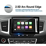 2016-2018 Honda Pilot Ridgeline 8 Inch Car Navigation Screen Protector, LFOTPP Tempered Glass Infotainment in-Dash Display Touch Scratch-Resistant,Compatible with LX EX EX-L Touring Elite