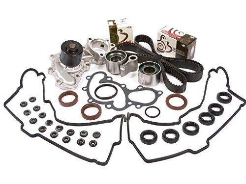 Evergreen TBK271VCT Toyota 4Runner 3.4L DOHC Timing Belt Kit Valve Cover Gasket Water Pump (Timing Belt Kit 99 Tacoma compare prices)