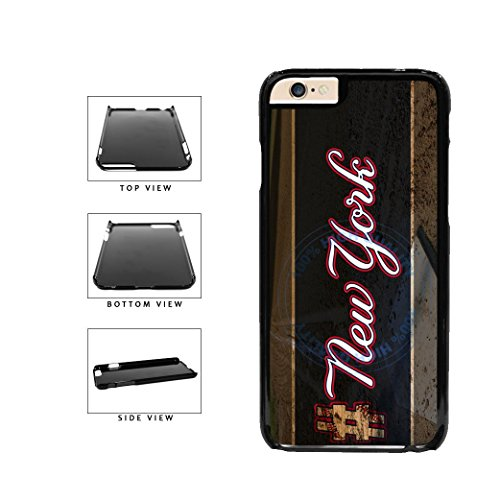 (BleuReign(TM) Hashtag New York #NewYork Blue Baseball Team Plastic Phone Case Back Cover For Apple iPhone 6 6s (4.7 Inches Screen))