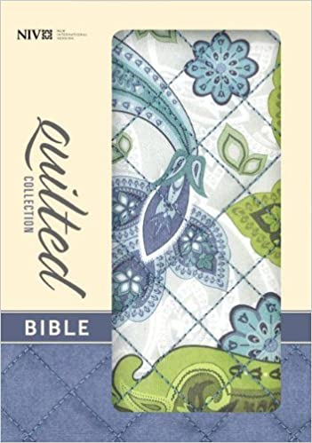 Quilted Collection Bible-NIV-Paisley