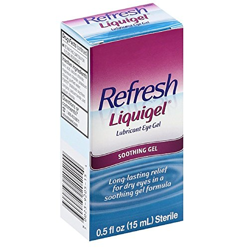 (Refresh Liquigel Lubricant Eye Gel, 0.5 Oz. (Pack of 2))