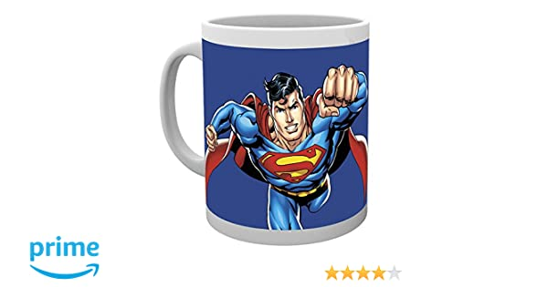 GB Eye LTD, DC Comics, Liga de la Justicia Superman, Taza: Amazon.es: Hogar