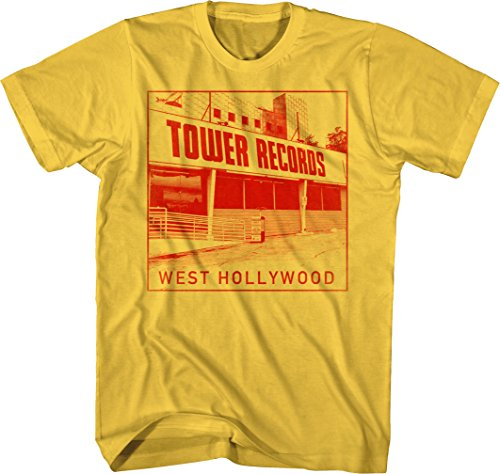 Tower Records - West Hollywood - Adult T-Shirt - Small