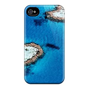 NvFod49600kTIII Faddish Heart Isl Case Cover For Iphone 4/4s