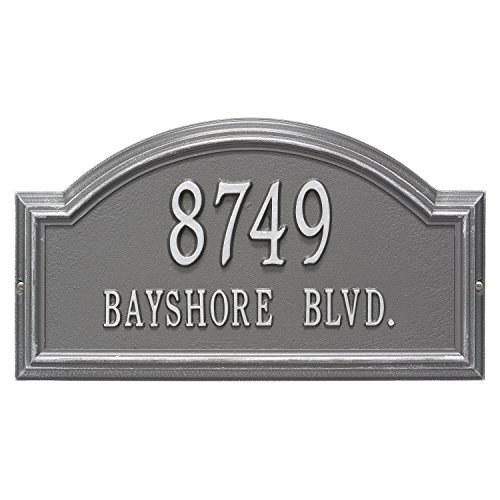 Providence Arch - Standard Wall - Two Line- Pewter/Silver Standard Wall Two Line