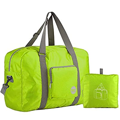 4a7a00b04c30 Wandf Foldable Travel Duffel Bag Luggage Sports Gym Water Resistant ...