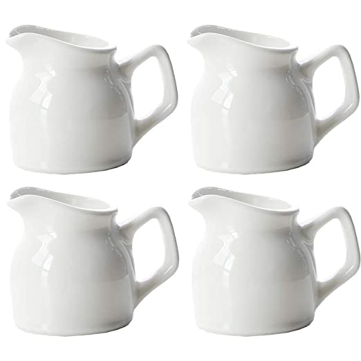 4 PCS Mini jarra de leche 100ml de cerámica polaca Crema de ...